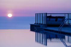 Reflejos en el horizonte, en el Jumeirah Port Soller Hotel & Spa Mallorca España