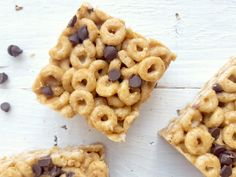 Here is a recipe of cereal bars 3 ingredients that wonderfully replaces the soft bars of the trade and are eaten in the time of saying it! rnrnSource by Cereal Bars, Granola, Macaroni And Cheese, Good Food, Appetizers, Commerce, Dire, Snacks, Healthy Recipes