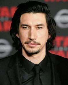 He can't get any more handsome. He can't!! #adamdriver #lastjediUSpremiere