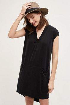 Lola Cocoon Tunic #anthropologie note low waist with inseam pockets
