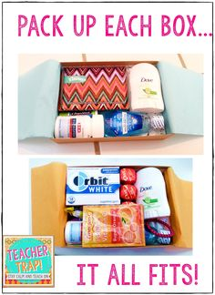 A Teacher Survival Kit for the first week back!
