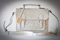 Totally yes! totally unique. Genuine leather all the way from the Middle East, handmade by Sandraj. Available on http://www.ananasa.com/...