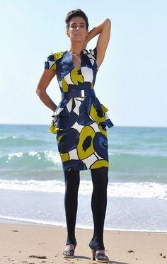 Gelfer Design A/W 2012 Handmade Art, Peplum Dress, Colours, Pattern, Vintage, Dresses, Design, Fashion, Vestidos
