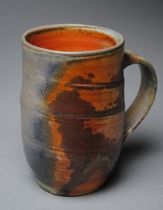 Wood Fired Mug M24 by JohnMcCoyPottery on Etsy, $65.00. www.etsy.com/shop/JohnMcCoyPottery