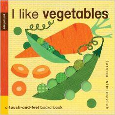 I Like Vegetables: Petit Collage: Lorena Siminovich: 9780763652838: Amazon.com: Books