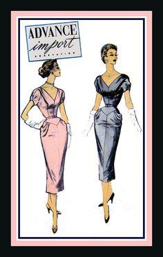 Vintage 1950sParisian Couturier Evening