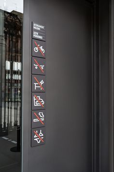 El Born CC — Wayfinding and icons Signage Display, Signage Design, Environmental Graphic Design, Environmental Graphics, Wm Logo, Regulatory Signs, Hospital Signage, Wayfinding Signs, Sign Board Design