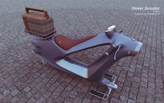 Hover Scooter concept | Designer: Vaughan Ling - http://vaughanling.blogspot.com/