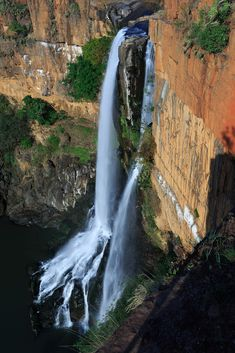 Waterval Boven RiversSouth AfricaWaterfallsnatureLandscapeRocksWaterWaterfall Nature A magnificent waterfall in Mpumalanga South Africa. Not easily accessable by tourists due to its remoteness by Oscar Romero Africa Travel, Nature Pictures, Wonders Of The World, Traveling By Yourself, Amazing, Nature Photography, Beautiful Places, South Africa, Falling Waters