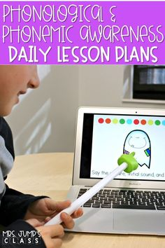 Daily lesson plans to teach phonemic and phonological awareness in your kindergarten or first grade classroom. You will love the printable and digital resources provided with each lesson plan! Aligned to Engaging Readers Kindergarten units as well. #phonologicalawareness #phonemicawareness #lessonplans #kindergarten