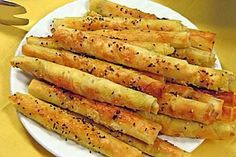 Zigarren - Käse - Börek Brunch Buffet, Salad Sandwich, Iftar, Recipes From Heaven, Snacks, Veggie Recipes, Tapas, Food And Drink, Vegan