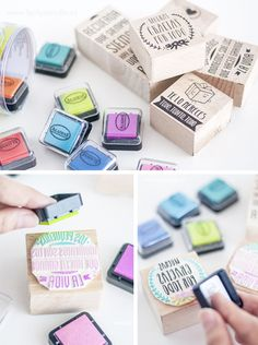 www.muymolon.com  #sellos #stamp #DIY