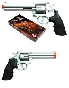 Pistol 160923: Tsd Uhc 934S 934 Ua934s .357 Revolver 6 Spring Airsoft Pistol Silver -> BUY IT NOW ONLY: $44.95 on eBay!