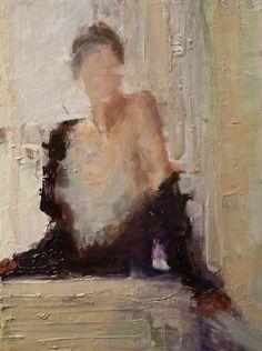 Fanny Nushka Moreaux, Venice, oil on canvas, 2013