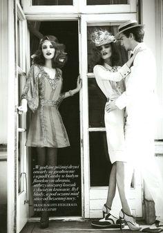 VISUELLE: The Great Gatsby by Maciej Bernas for Fashion Magazine