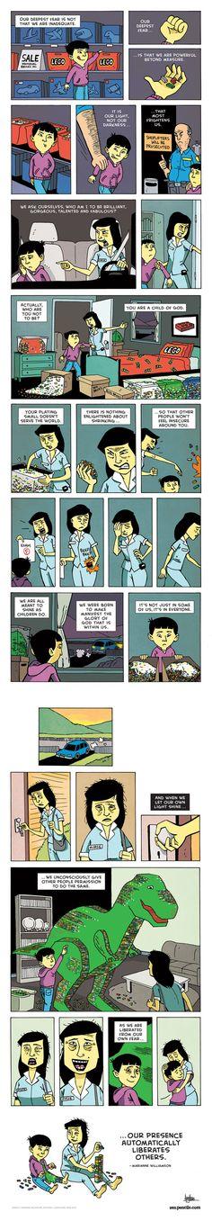 Zen Pencils Comic Strip, November 08, 2013 on GoComics.com