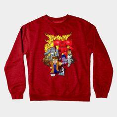 8 bit world 10th Doctor who vs enemies Crewneck #teepublic #Crewneck #sweater #shirt #tshirt #tee #clothing #craft #drwho10 #colorfull #davidtennant #dalek #classicrobot #cyberman #davros #k9 #silurians #sontaran #thevastanerada