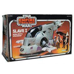 Slave I - Boba Fett's ride from Star Wars, The Empire Strikes Back.