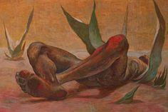 Guillermo Meza, 'Hombre Acostado Entre Maguey,' 1952, Andrés Siegel / Arte