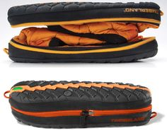 "These winter #boots zip up, converts to ""pod"" for storage in backpack or for travel. Pretty cool. $95.00"