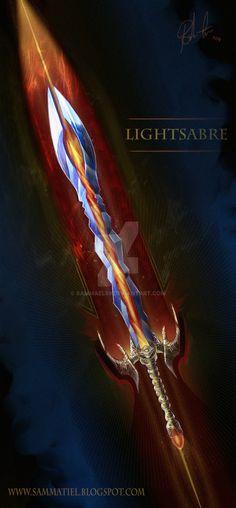 Lightsabre by SammaeL89.deviantart.com on @DeviantArt