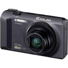 Casio Exilim EX-ZR100 12.1 MP CMOS Sensor with 12.5x Optical Zoom Digital Camera