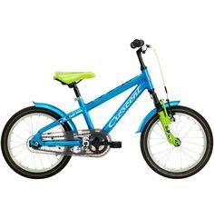 Crescent Munin är en tuff oväxlad 16-tums barncykel med en dämpad framgaffel av hög kvalitet.