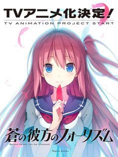 Ao no Kanata no Four Rhythm Eroge Game Gets TV Animation