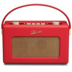 Roberts RD60 Revival DAB/FM RDS Digital Radio with Up to 120 Hours Battery Life - Red