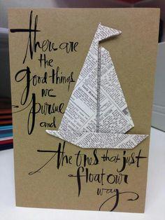 Hand made card! #cute #diy