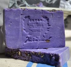 LAVENDER SOAP with French style cotton bag. $ 5.50, via Etsy.