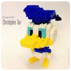 My nanoblock Donald Duck design