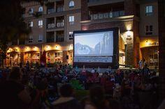 Movie in the Square in Brantford, Ontario
