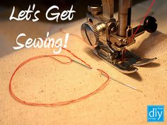 Everyone should have some rudimentary sewing skills - even if you don't think you'll ever make your own ball gown from window drapes. Design Your Own Home, Handmade Home, Let It Be, Sewing, Diy, Clothing, Decor, Outfits, Dressmaking