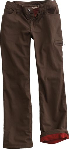 Take on winter's worst in Fleece-lined DuluthFlex Fire Hose Work Pants. Made of rugged yet flexible canvas, they've got a cozy fleece lining that stays put - no bunching or twisting!