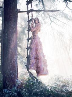 Editorial: Josephine Le Tutour by Alexandra Sophie for Harper's Bazaar UK January 2017