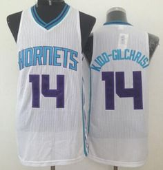 96294ae92cd Revolution 30 Hornets #14 Michael Kidd-Gilchrist White Stitched NBA Jersey  Cheap Nba Jerseys