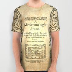 Shakespeare. A midsummer night's dream, 1600 All Over Print Shirt