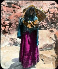 """Gathering Mescal Shoots"" Havasupai -  Circa 1900, Grand Canyon National Park, Arizona (pinned by haw-creek.com)"