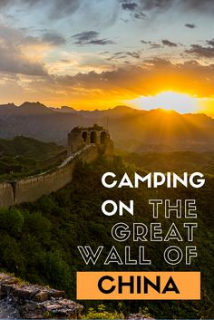 When visitors go to China, they visit the Great Wall. But did you ever think about camping on the wall. Thats what we did and here is a guide on how you can camp on the Great Wall of China. #greatwallofchina #camping #china