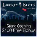 Lincoln Casino and Liberty Slots Exclusive $15 no deposit bonus