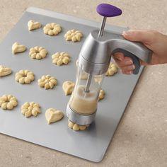 Butter Churner, Honey Dispenser, Watermelon Slicer, Cookie Baskets, Salad Spinner, Spritz Cookies, Cookie Press, Make Ice Cream, Baking Tools