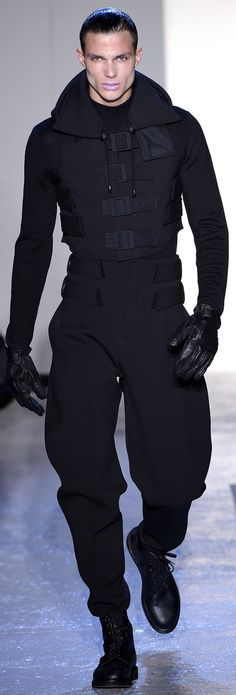 Dark Fashion, Cyberpunk, Dystopan Fashion by Thierry Mugler