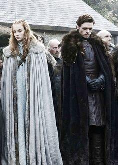 Sansa & Robb Stark - The North Remembers - Season 1 Episode 1