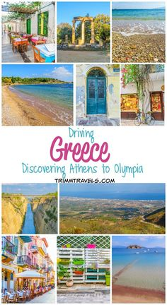 With everything from ancient ruins to beautiful beaches, there is so much to see on the mainland. Find out everything I discovered Driving Greece! Olympia Greece, Stuff To Do, Things To Do, Great Places To Travel, Ancient Ruins, Athens Greece, Greece Travel, Beautiful Beaches, Rome