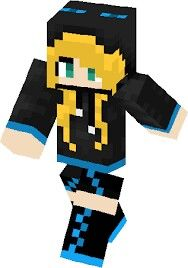 Look it! Minecraft Girl Skins, Fallout Vault, Fictional Characters, Image, Stuff Stuff, Fantasy Characters
