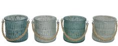 Tuikkulyhdyt : BORIC Tuikkulyhtysetti 4-os Siniturkoosi Mix Mason Jars, Canning, Detail, Mason Jar, Conservation, Jars