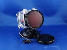 PNJcam AEE Adaptateur caisson SD23 avec filtre de plongée M58