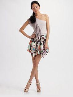 #Saks Fifth Avenue        #Skirt                    #Alice #Olivia #Printed #Layer #Skirt #Saks.com     Alice + Olivia - Printed Layer Skirt - Saks.com                               http://www.seapai.com/product.aspx?PID=473832
