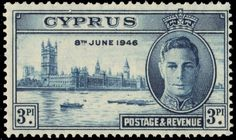 "CYPRUS 157 (SG165) - King George VI ""Peace-Victory"" Issue (pf76960) 